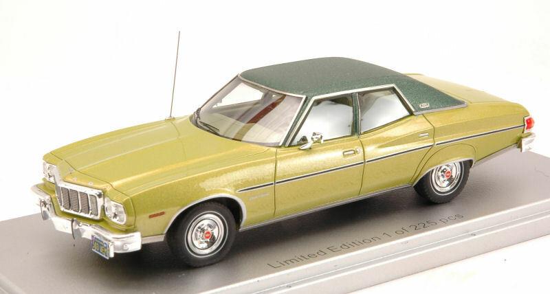 KESS modellolo KS43015031 FORD GRAN TORINO BROUGHAM 1976 MET.LIGHT verdeverde ED.LI