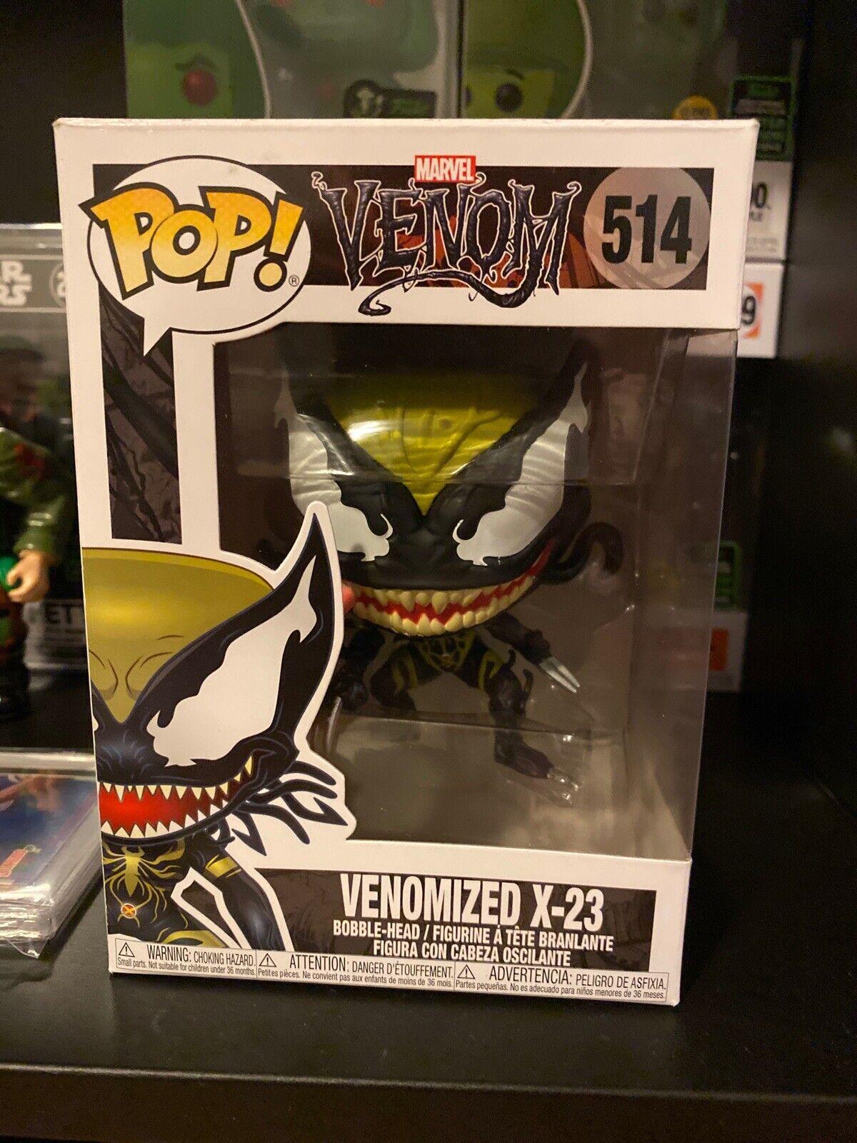 Funko Pop venomized X-23 Marvel Venom S2