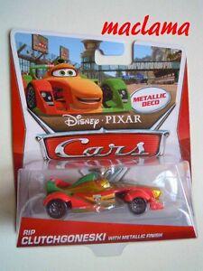 RARO-Disney-pixar-cars-rip-clutchgoneski-with-metallic-finish-mattel-1-55maclama