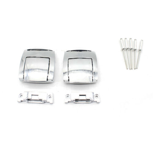 Motorcycle 2X Rear Trunk Tour Pak Premium Latches For Harley Touring Models