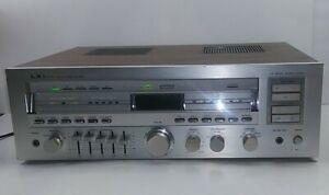 Vintage-LXI-Modell-564-92590900-Silber-Gesicht-Stereoempfaenger-siehe-Video-Sears