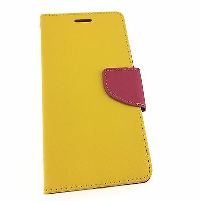 Huawei Honor 5X GR5 Quality Leather Flip Wallet Case with Credit Card Slots