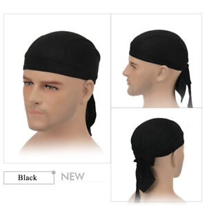 Cycling Outdoor Sports Headscarf Pirate Bandanna Hat Durag Cap Pink AU seller