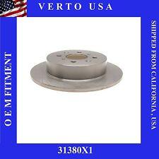 Rear Brake Disc Rotor For Acura EL & Honda Civic, Verto USA 31380X1