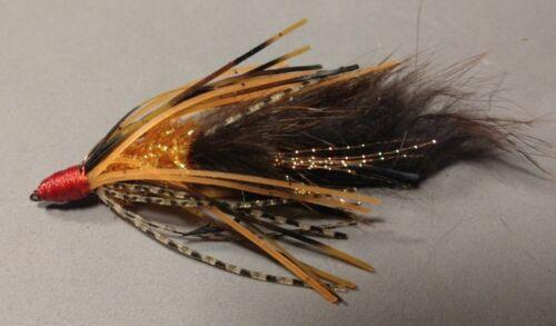 taille 1//0 Orange faits saillants Hot Orange nouveau *** vendus par 3 Bass//smallie Craw