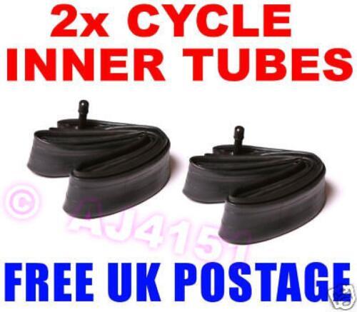 "2 x 24/"" x 1 13//8/"" SCHRADER Bicycle Bike Cycle Inner Tubes FREEPOST UK POSTAGE"