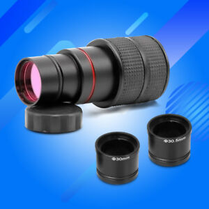 Free-Drive-5MP-USB-Camera-Digital-Microscope-Electronic-Eyepiece-w-Adapter-Ring