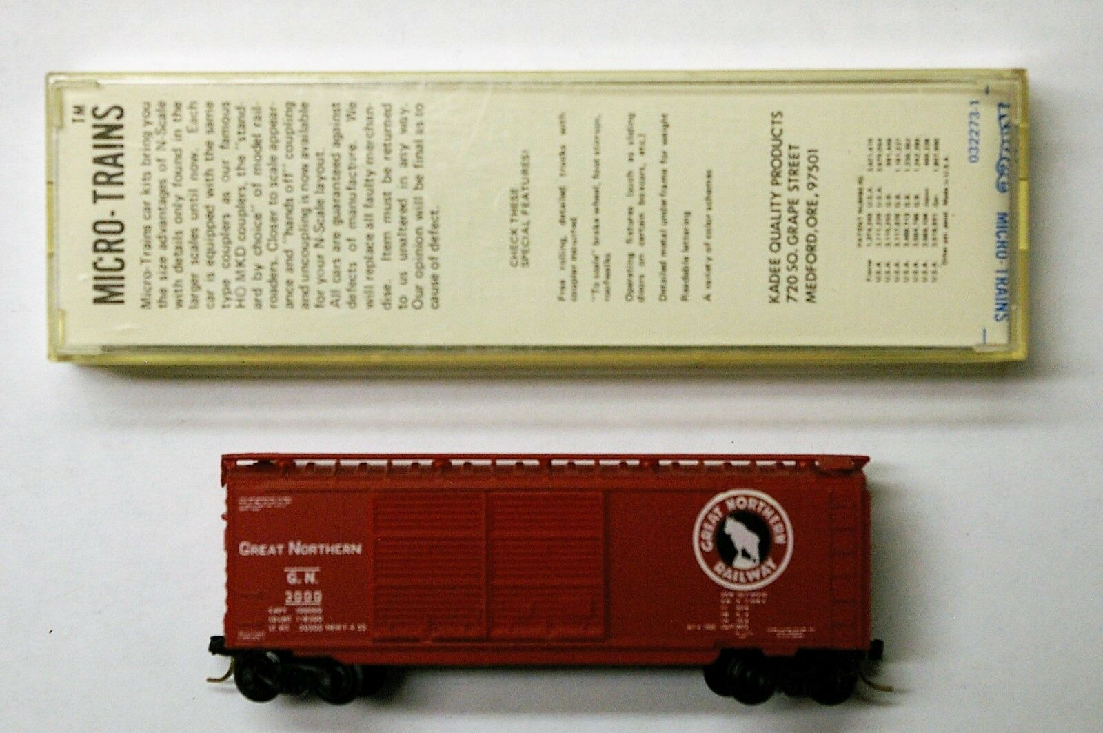 MTL Micro-Trains 23190 Great Northern GN 3000
