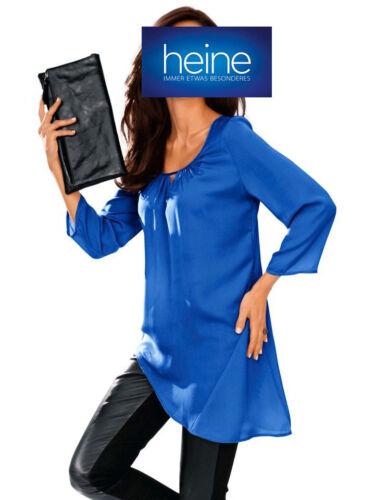 Satinbluse ASHLEY BROOKE by heine Royalblau KP 49,90 € SALE/%/%/% NEU!!