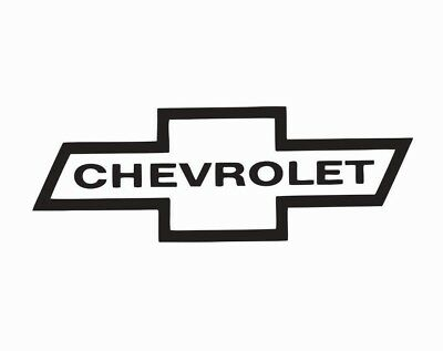 Chevrolet Chevy Bowtie Logo Vinyl Die Cut Car Decal Sticker - FREE SHIPPING  | eBay