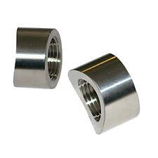 Angled 45 Degree 02 Oxygen Sensor Weld Bung Nut M18x1.5 Wideband