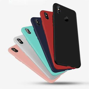 best service a596b 58907 Details about Silicone Rubber Frosted TPU Cover Case For Xiaomi Mi A1 A2 A3  Max 3 8SE 9T CC9E