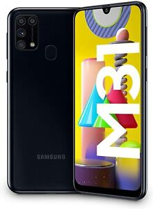 "Samsung Galaxy M31, Smartphone, Display 6.4"" Super AMOLED, 4 Fotocamere Posterio"