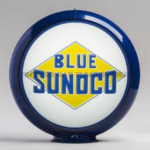 "Dark Blue 13.5/"" Plastic Gas Pump Globe Body PB531"