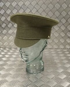 Genuine-British-Army-No2-Issue-Royal-Artillery-Regiment-RA-Khaki-Parade-Hat-Cap