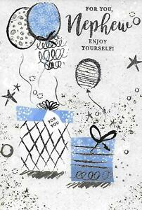 Image Is Loading NEPHEW BIRTHDAY CARD SIMON ELVIN BALLOONS Amp GIFTS