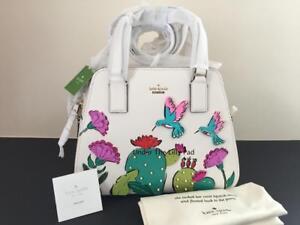 Kate Satchel Cactus Bag Spade New Babe 98687074384 Handbag Route Leather Nwt Scenic 8kwOPn0