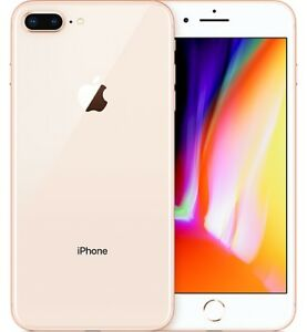 "#cybersale Apple iPhone 8+ 8 plus 256gb 5.5"" Gold Latest Smartphone Agsbeagle"