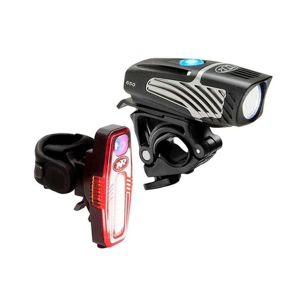 Niterider Lumina Micro 650 Sabre 80 Combo Light Set Mountain Biking