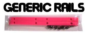 NOS-Generic-SIDE-RAILS-Skateboard-Gorilla-Rib-Bone-Style-Grab-Rails-PINK
