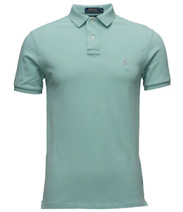 edc94f2d Polo Ralph Lauren Classic-Fit Weathered Mesh Short-Sleeve Polo Shirt ...