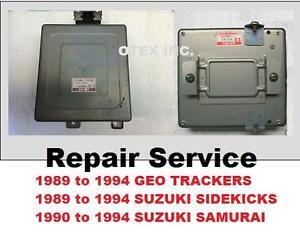 89 90 91 92 93 94 suzuki samurai sidekick geo tracker ecu