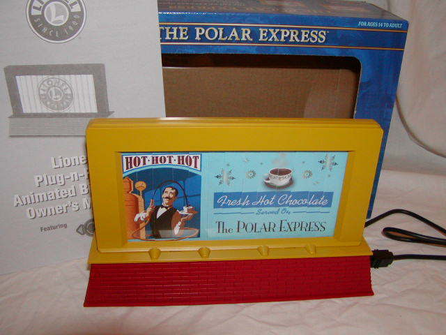 Lionel 683455 Polar Express Operating Billtavola O 027 MIB nuovo Plug Expe Play