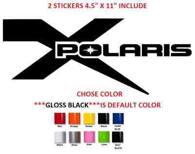 Polaris Logo ATV Slingshot Snowmobile Jet Ski Vinyl Decal Sticker 61152z