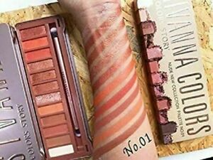 Sivanna colors makeup eyeshadow color story nude new collection palette 01 160gm