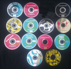 12-Old-School-House-Techno-Rave-Trance-Limited-Edition-CDs-1996