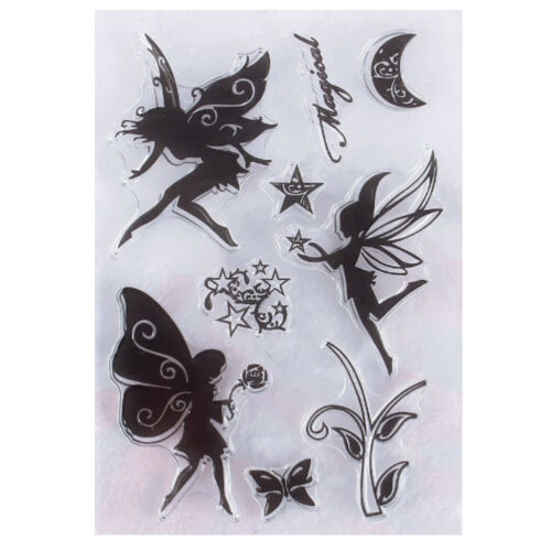 Blumen-Fee DIY Stempel Sonnenblumen Muster Papier Holz Siegel Drücken Stempel