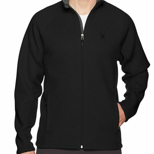 Spyder Men's Foremost Full Zip Heavy Wt Stryke Jac