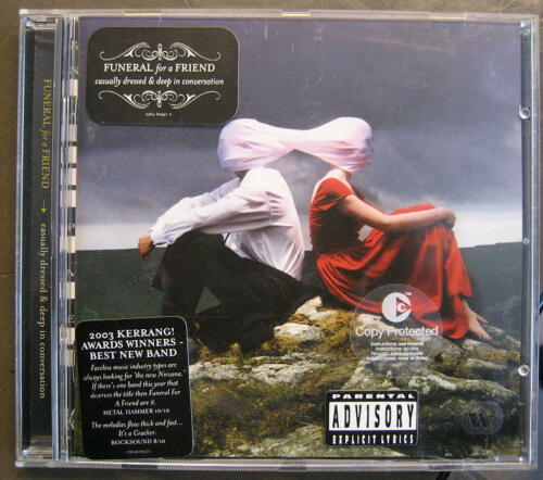 """1 von 1 - FUNERAL FOR A FRIEND """"CASUALLY DRESSED & DEEP IN CONVERSATION"""" - CD"""