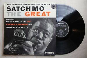 Louis-Armstrong-Satchmo-The-Great-Vinyl-LP-Philips-Rare-1957