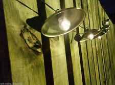 10x Usa Energía Solar Metal Farol Colgante Jardín Juego De Luces