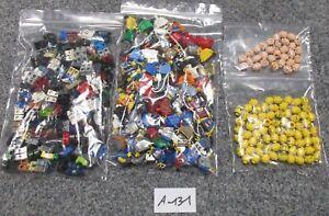 LEGO-0-3-kg-Auction-Minifig-Parts-A-131-100-Figuren-ohne-Haare-querb