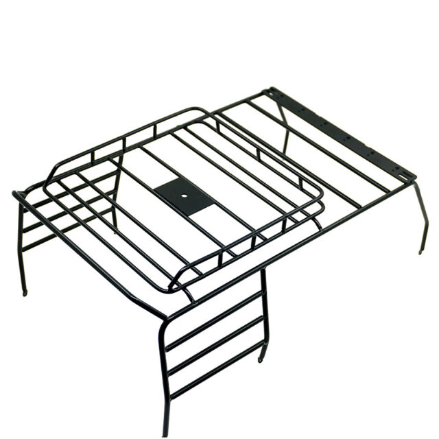 10 Rc Crawler Metal Roof Luggage Rack Roof Light Stand For Axial