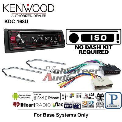 Kenwood Car Radio Stereo CD Player Dash Install Mounting Kit Harness Antenna