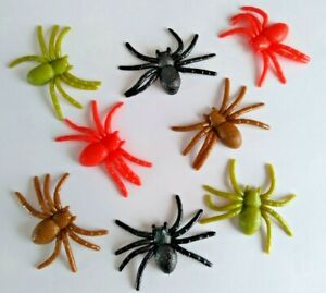 Stretchy-Spiders-Childrens-Boys-Kids-Girls-Halloween-Party-Loot-Bag-Fillers