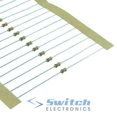 39K Ohm 0.25 W Carbon Film Resistor 5/% 1//4w Reino Unido Vendedor