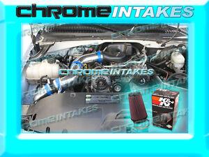 K/&N+RED 99 00 01 02-07 CHEVY SILVERADO//GMC SIERRA 1500 4.3L V6 AIR INTAKE KIT S