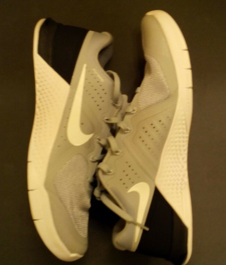 NEW Men's Nike Metcon 2 Cool Dark Grey Black White Shoes 819899-070 SZ-10