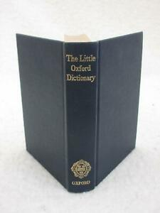 George-Ostler-THE-LITTLE-OXFORD-DICTIONARY-1962