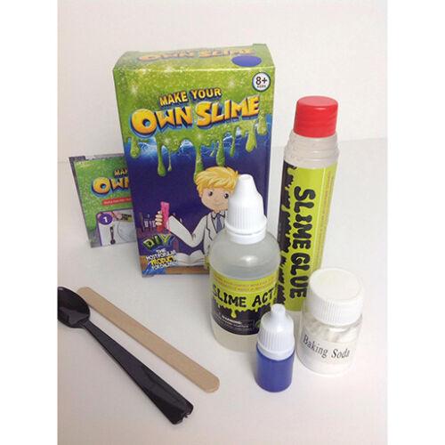 DIY Make Your Own Creative Slime Putty Girls Kids Toy Xmas Gift Play Lab Kit Set