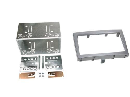 04-08 Autorradio radio diafragma radio soporte doble DIN porsche boxster tipo 987