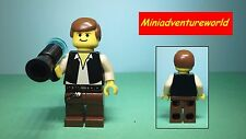 Lego GENUINE NEW Minifigure Han Solo 10123 Cloud City sw045