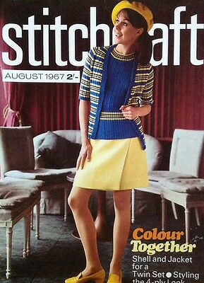 juin 1967 Vintage STITCHCRAFT magazine
