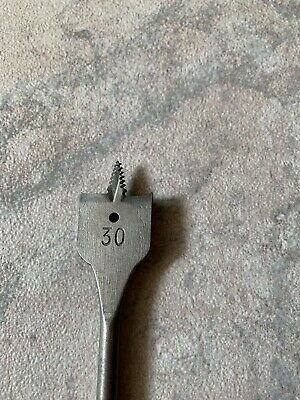 Flachfräsbohrer Holzbohrer Spatenbohrer 35mm Mit Einer Länge Von Ca. 38cm Angenehm Zu Schmecken
