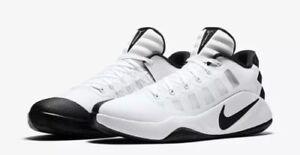 BRAND-NEW-2016-Nike-Hyperdunk-Low-TB-White-Black-Men-039-s-Basketball-Shoes-size-8