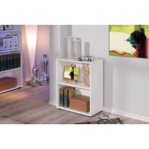 Petite-etagere-bibliotheque-rayonnage-meuble-de-salle-de-bain-ou-de-bureau-BLANC